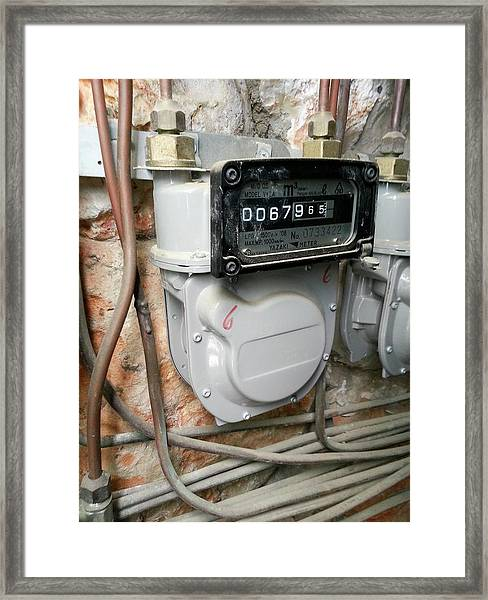 Gasometer Framed Print