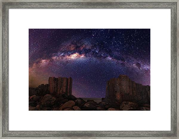 Gate To Heaven Framed Print by Wolongshan
