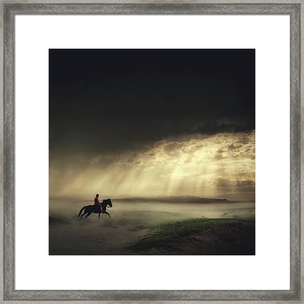 Gateaway Framed Print