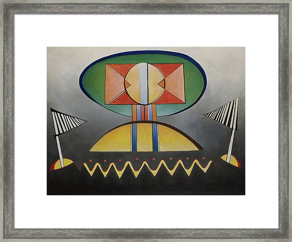 Gatekeeper Framed Print by David Douthat