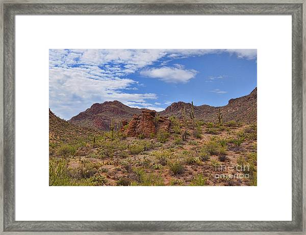 Gates Pass Scenic View Framed Print