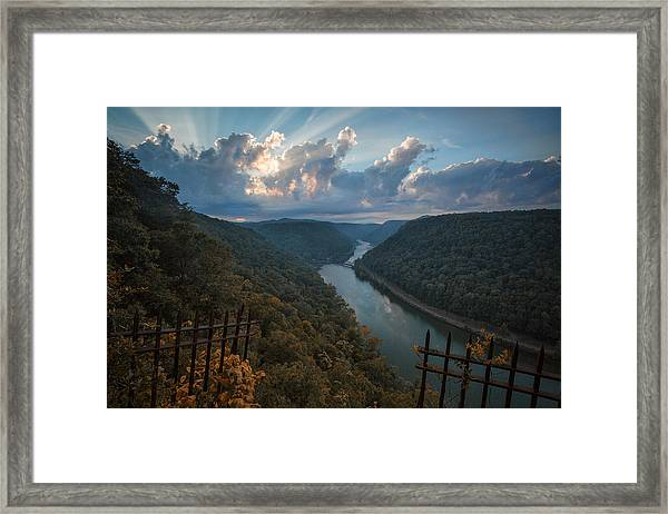 Gateway To Autumn Framed Print