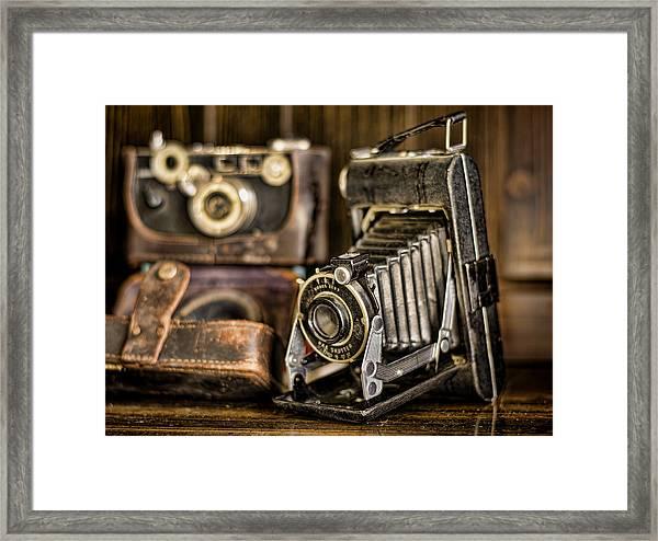 Gathering Dust Iv Framed Print