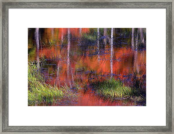 Gatineau Abstract Framed Print