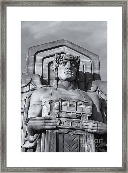 Guardian Of Traffic II Framed Print