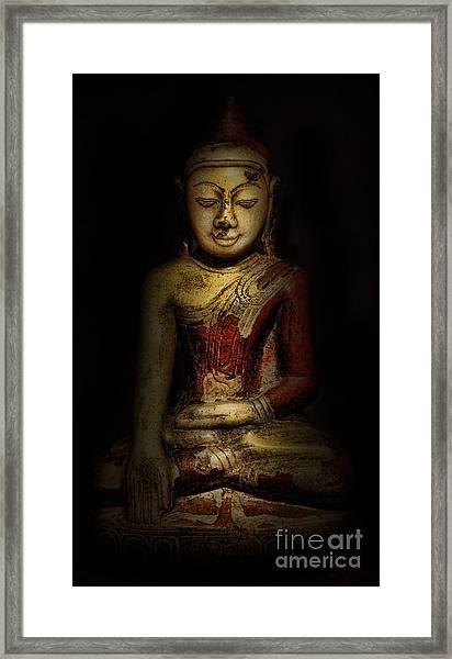 Gautama Buddha Framed Print by Lee Dos Santos