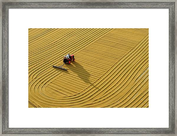 Gaziantep Bulgur Construction Framed Print