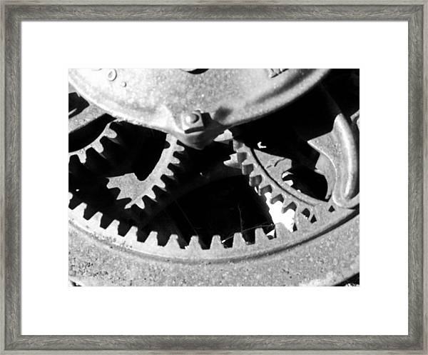 Gears Light Framed Print