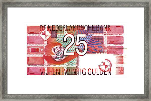 Geeltje- Little Yellow Framed Print