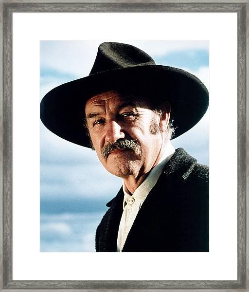 Gene Hackman In Unforgiven  Framed Print by Silver Screen