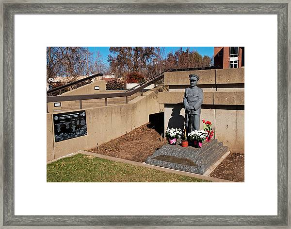 General Vang Pao Memorial Monument 2013 Framed Print
