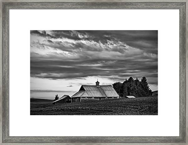 Genesee Barn Framed Print