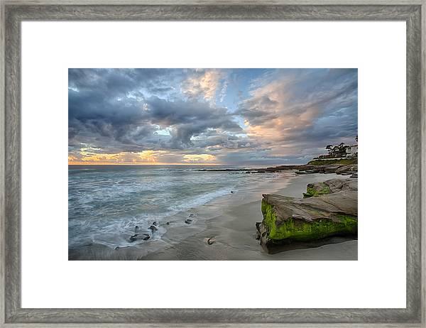 Gentle Sunset Framed Print
