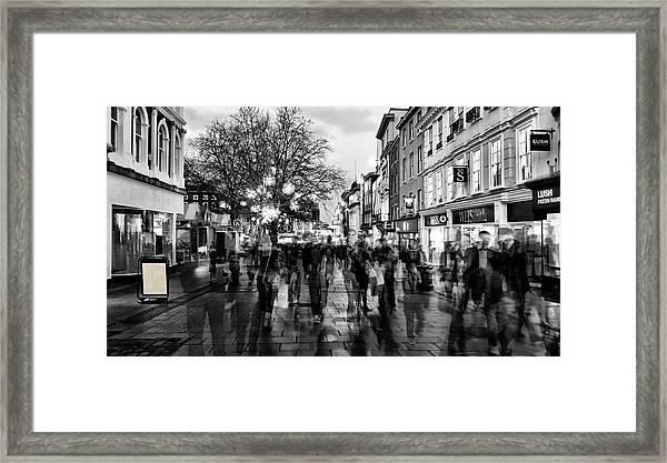Gentleman's Ghosts Framed Print