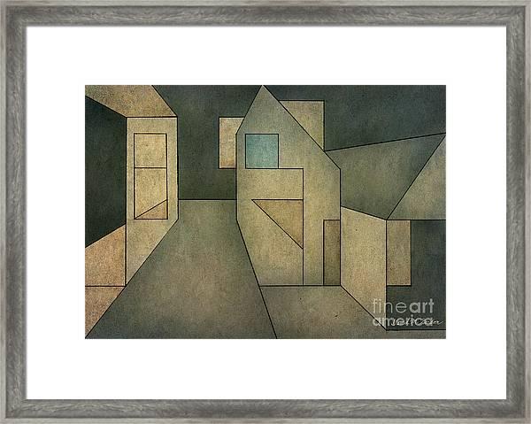 Geometric Abstraction II Framed Print
