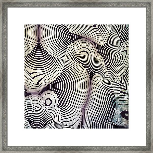 Geometric Gymnastic - S06-01ct01b Framed Print