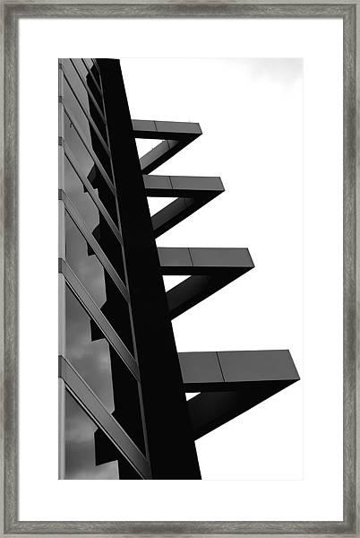 Geometrized Framed Print