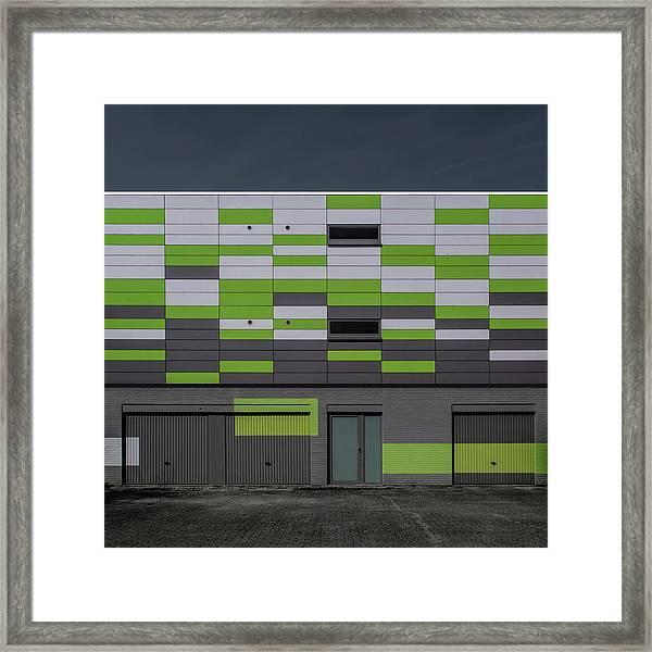 Geometry Framed Print by Luc Vangindertael (lagrange)