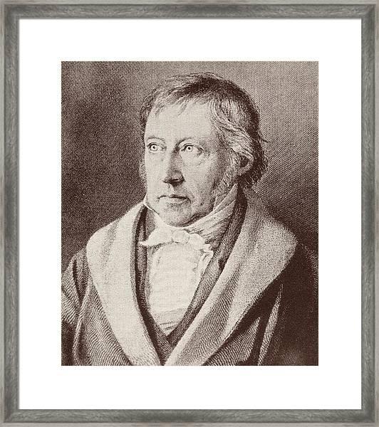 Georg Hegel  Framed Print