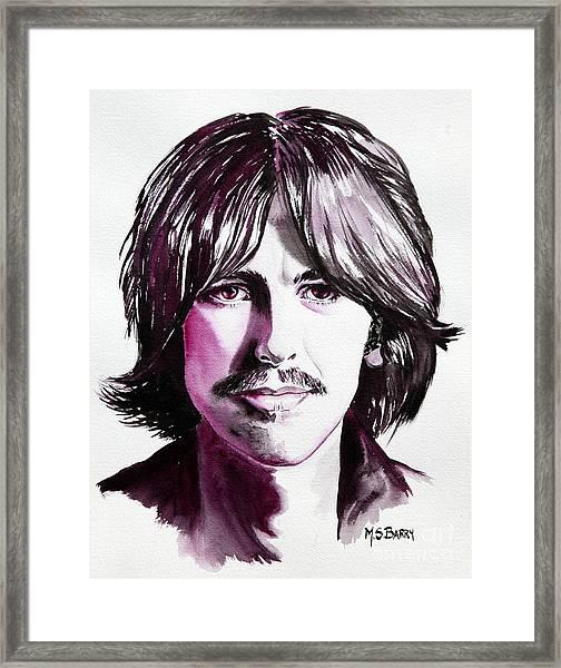 George Harrison Framed Print