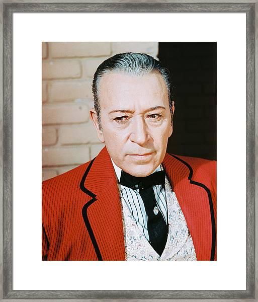 George Raft Framed Print by Silver Screen
