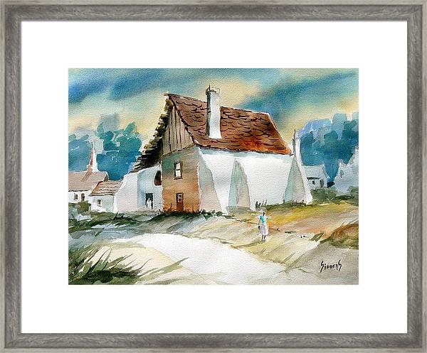 George's House Framed Print