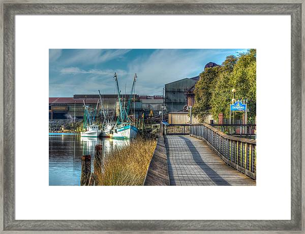 Framed Print featuring the photograph Georgetown by Francis Trudeau