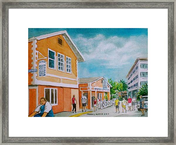 Georgetown Grand Cayman Framed Print