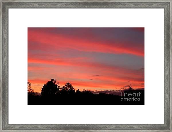 Georgia Sunset Framed Print