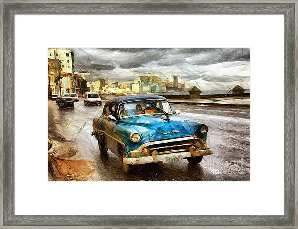 Get Outta My Dreams Get Into My Car Framed Print