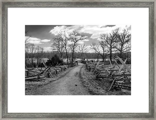Gettysburg's 150th Anniversary Framed Print