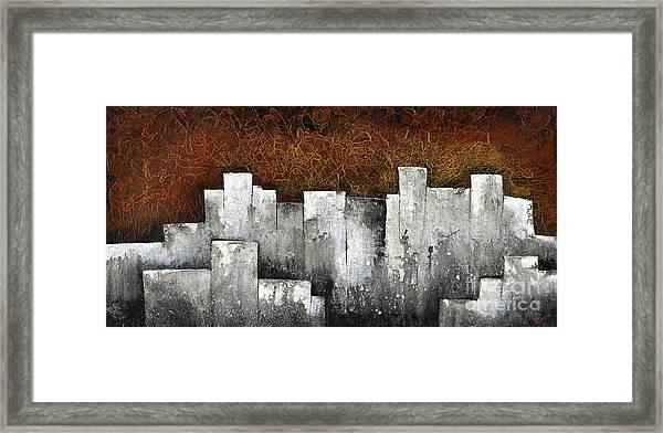 Ghost City Framed Print