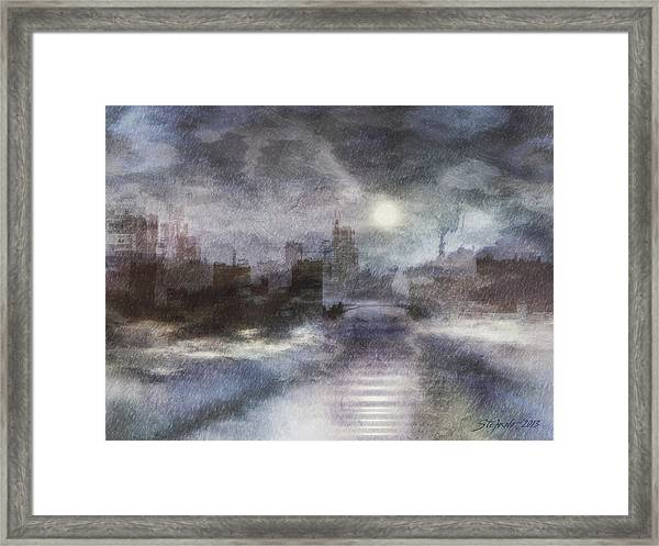 Ghost Country Framed Print