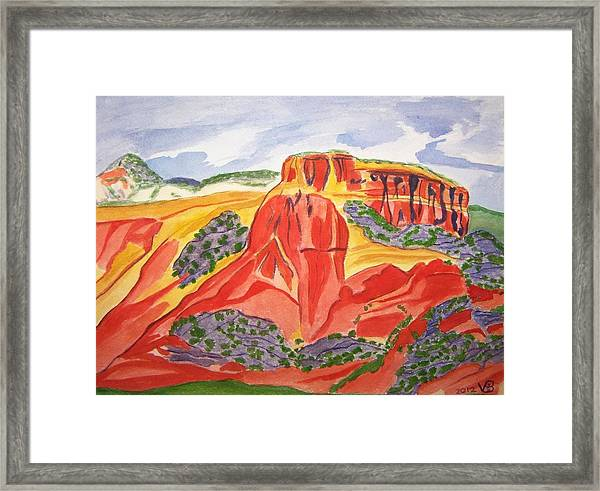 Ghost Ranch New Mexico Framed Print