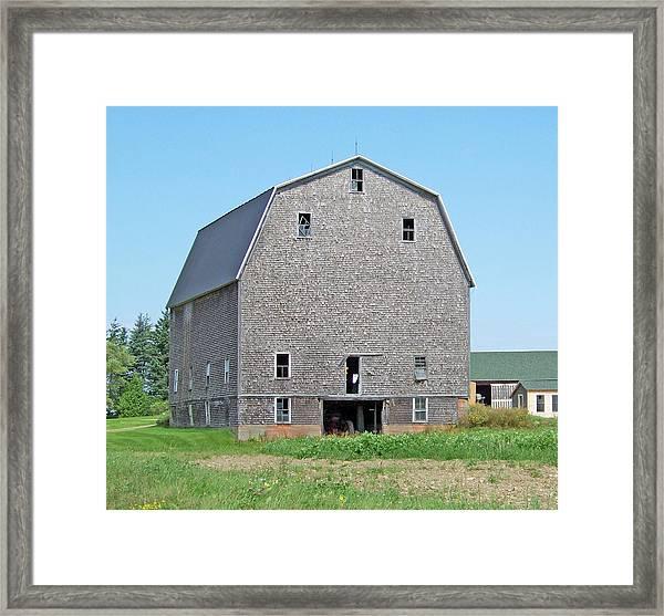 Giant Barn Framed Print