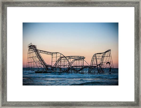 Giant Of The Sea Framed Print