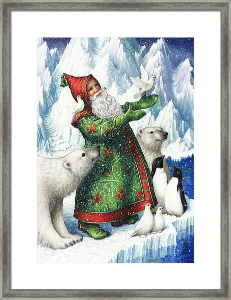 Gift Of Peace Framed Print