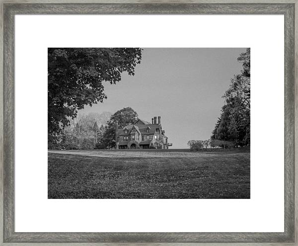 Gilded Age Mansion Framed Print