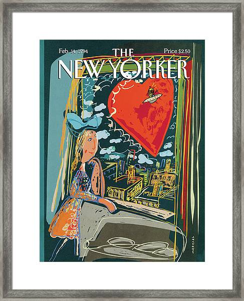 New Yorker February 14th, 1994 Framed Print