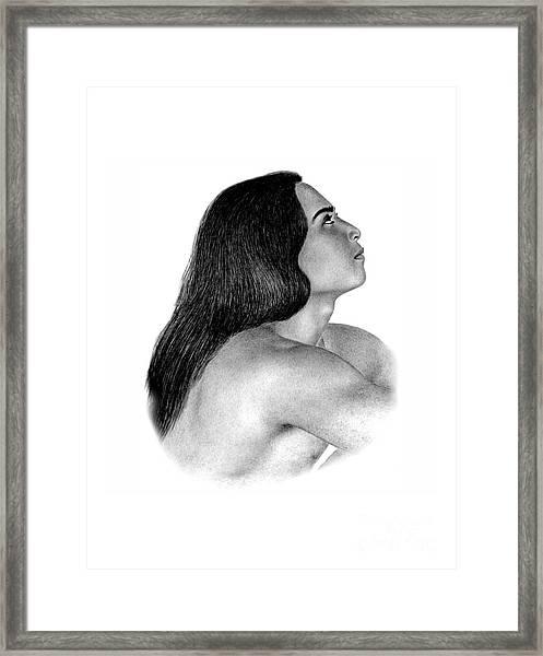 Giving Thanks Framed Print