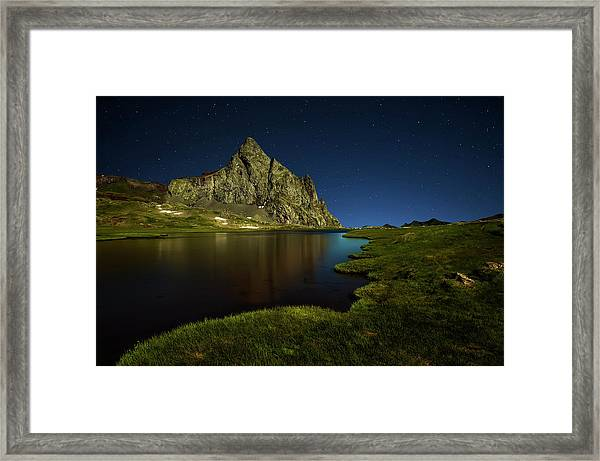 Glacier Anayet Framed Print