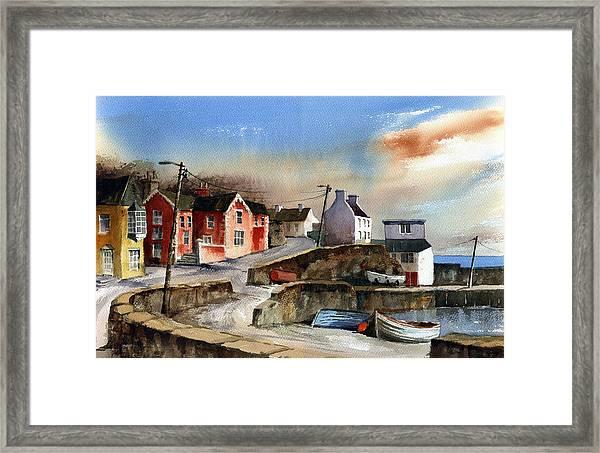 Glandore Village West Cork Framed Print