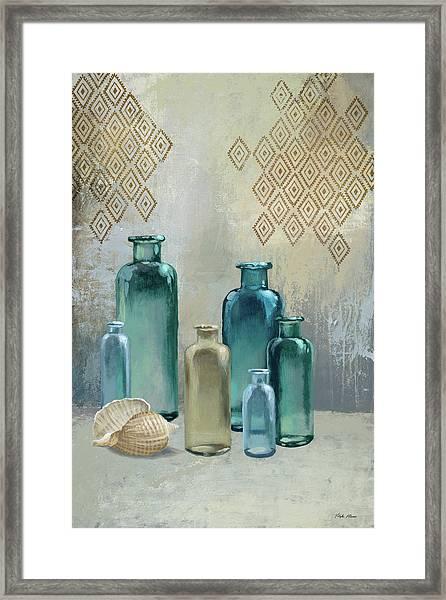 Glass Bottles I Framed Print