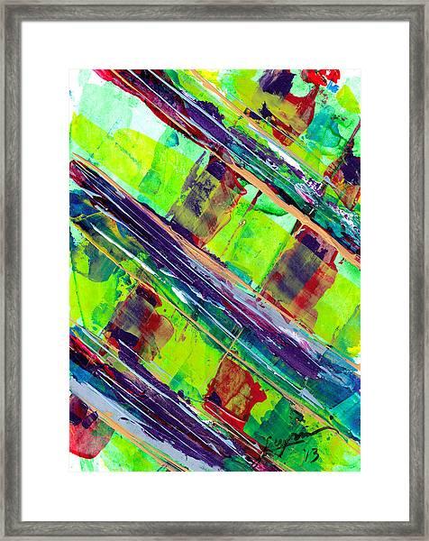 Glass Bridge Framed Print