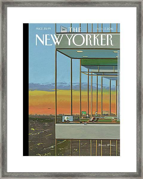 Glass Houses Framed Print