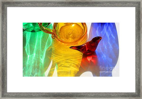Glass Reflections #8 Framed Print