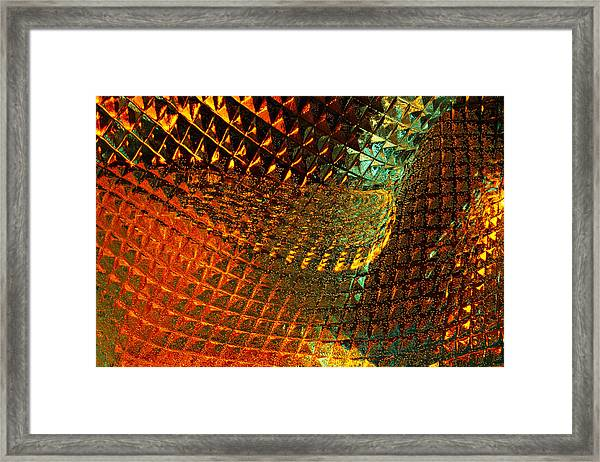 Invigorate - Glass Works 16 Framed Print