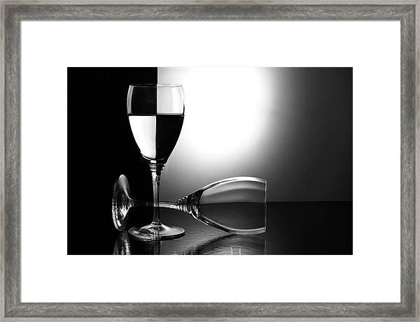 Glasses Framed Print by