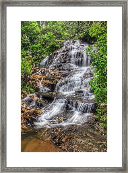 Glen Falls Framed Print