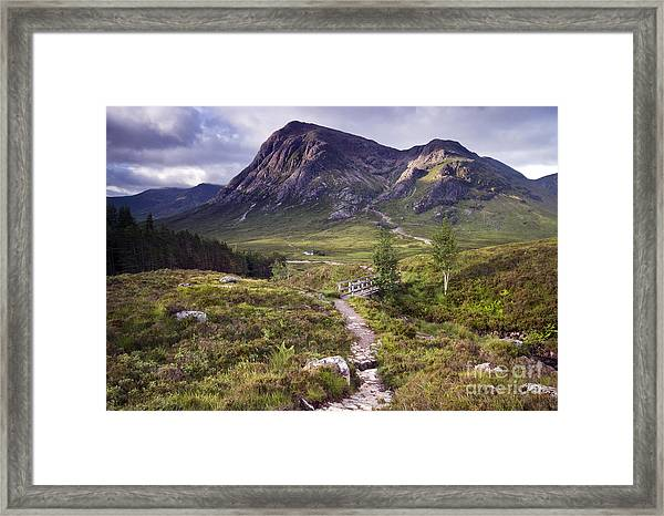 Glencoe Valley Framed Print